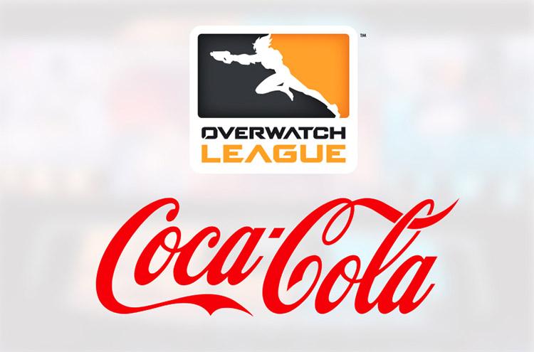 Coca Cola bebida oficial de Overwatch