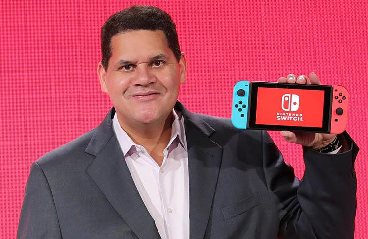 Reggie se retira de Nintendo