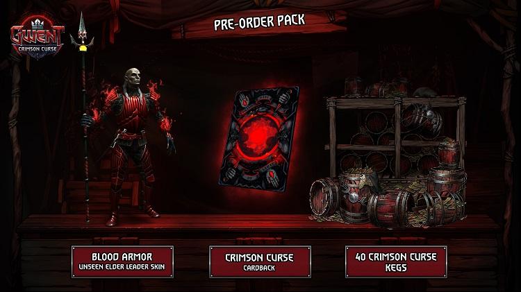 tráiler de lanzamiento de GWENT: Crimson Curse