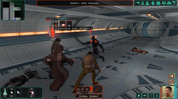 serie sobre Star Wars: Knights of the Old Republic