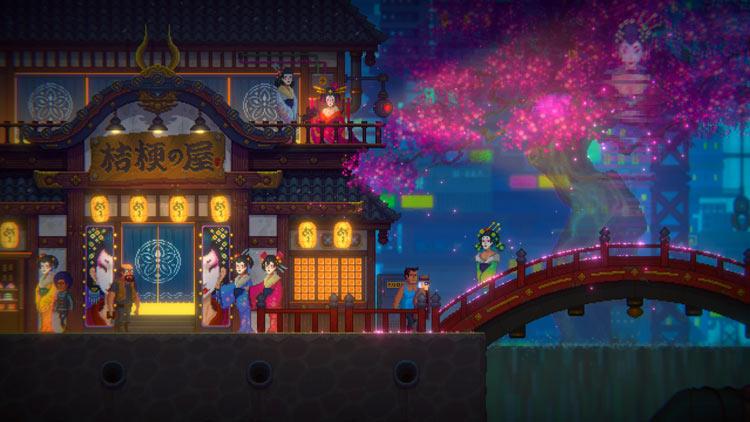 Análisis de Tales Of The Neon Sea ciudad