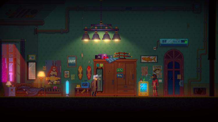 Análisis de Tales Of The Neon Sea casa