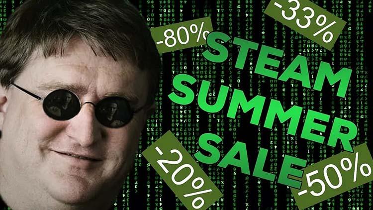 filtra la fecha de las rebajas de verano de Steam