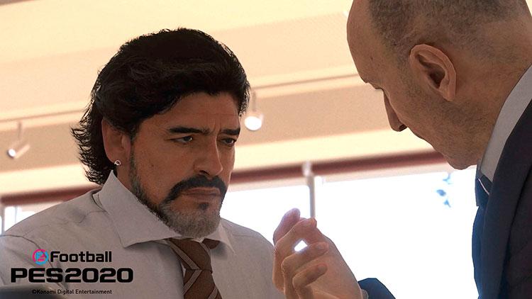 Avance de eFootball PES 2020, Diego Armando Maradona