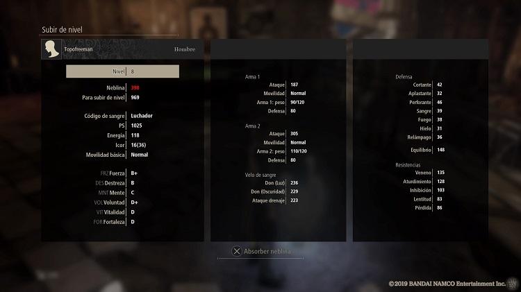 impresiones de la beta de Code Vein