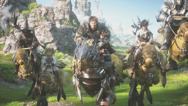 serie de televisión sobre Final Fantasy XIV