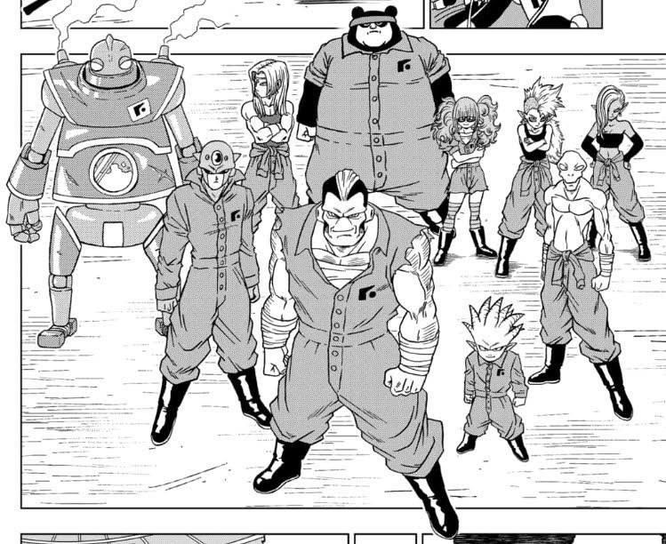 Dragon Ball Super 50, fugados