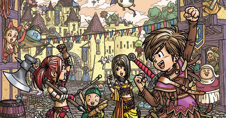 posible remake de Dragon Quest IX