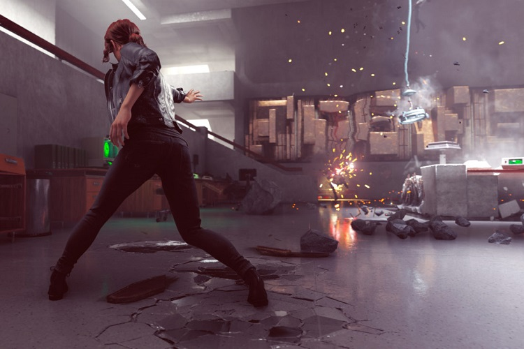 segundo gameplay de Control