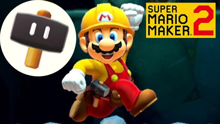 Super Mario Maker 2 - Cómo desbloquear la Super Bola y el Super Martillo
