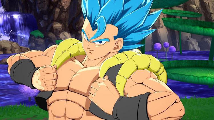 Así lucen los movimientos de Gogeta Super Saiyan Blue en Dragon Ball FighterZ