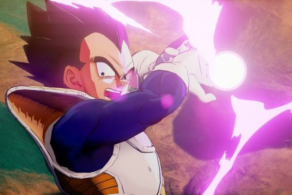 Vegeta en Dragon Ball Z KAKAROT será un personaje jugable