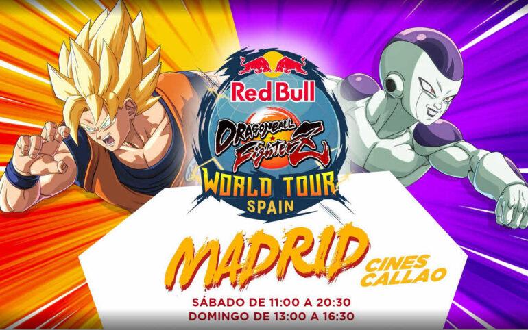 Horario Red Bull Dragon Ball FighterZ SAGA España