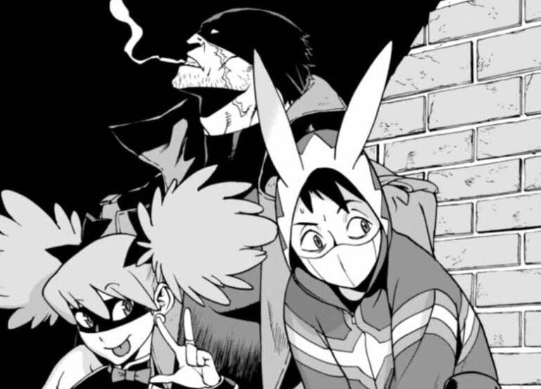 Manga My Hero Academia Vigilante Illegals