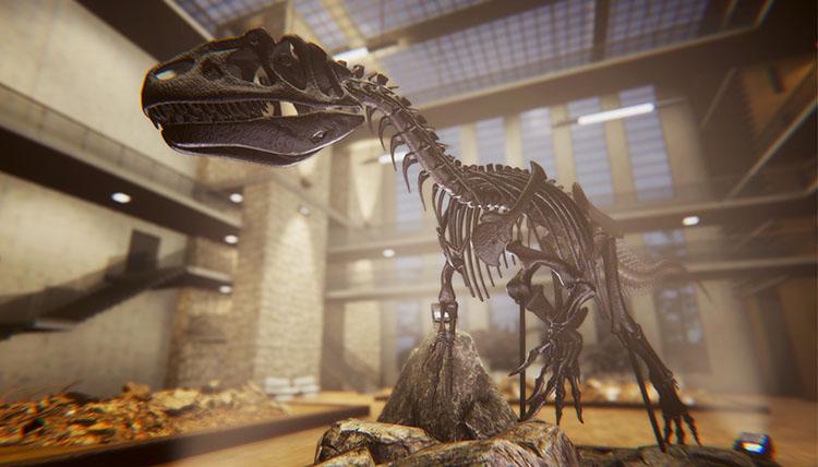 anuncio de Dinosaur Fossil Hunter