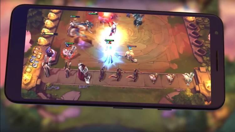 Teamfight Tactics para móviles en marzo