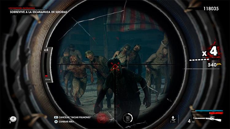 primeras impresiones de Zombie Army 4 Dead War 2