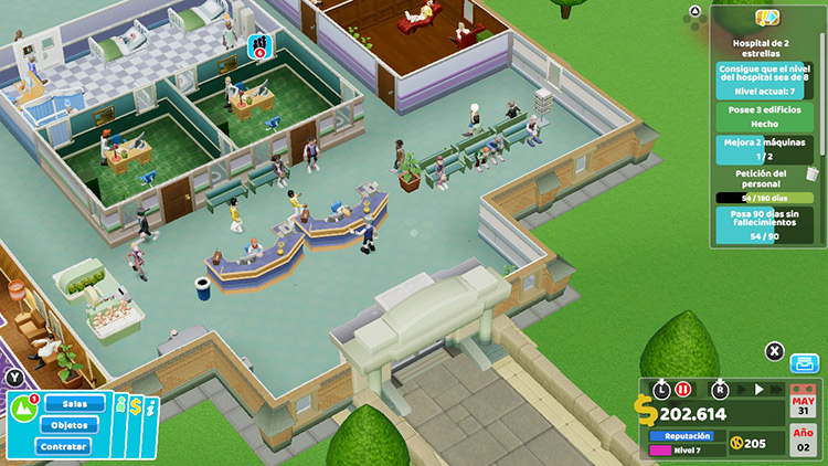 Análisis Two Point Hospital 4