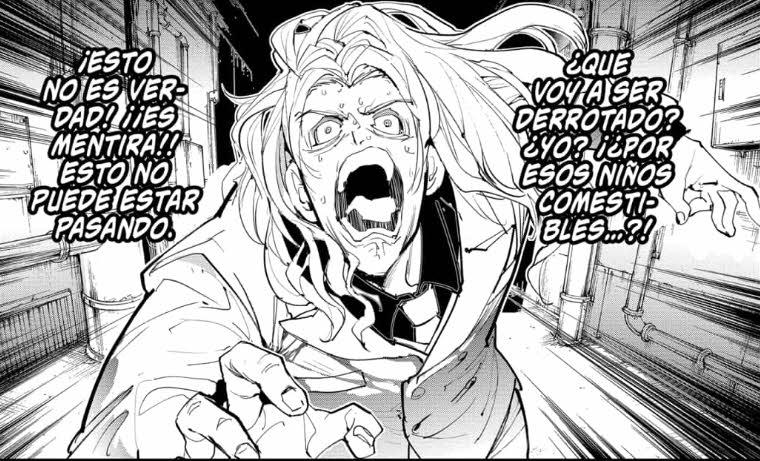 Leer manga The Promised Neverland 171 en español, 'La derrota'