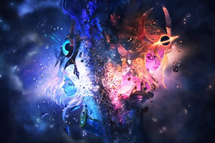 tráiler Galaxias 2020: El fin de la luz de League of Legends