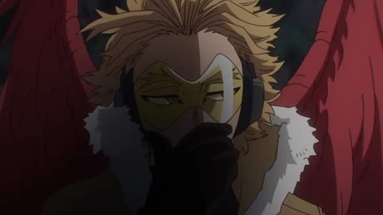Hawks en My Hero One's Justice 2