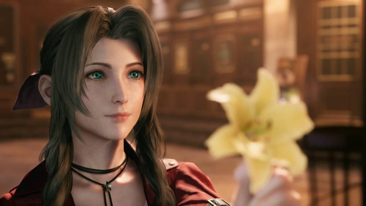 todas las armas de Aeris en Final Fantasy VII Remake