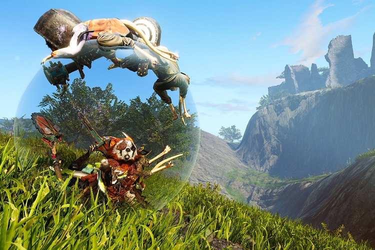 gameplay de Biomutant