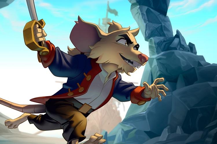 Kickstarter de Curse of the Sea Rats