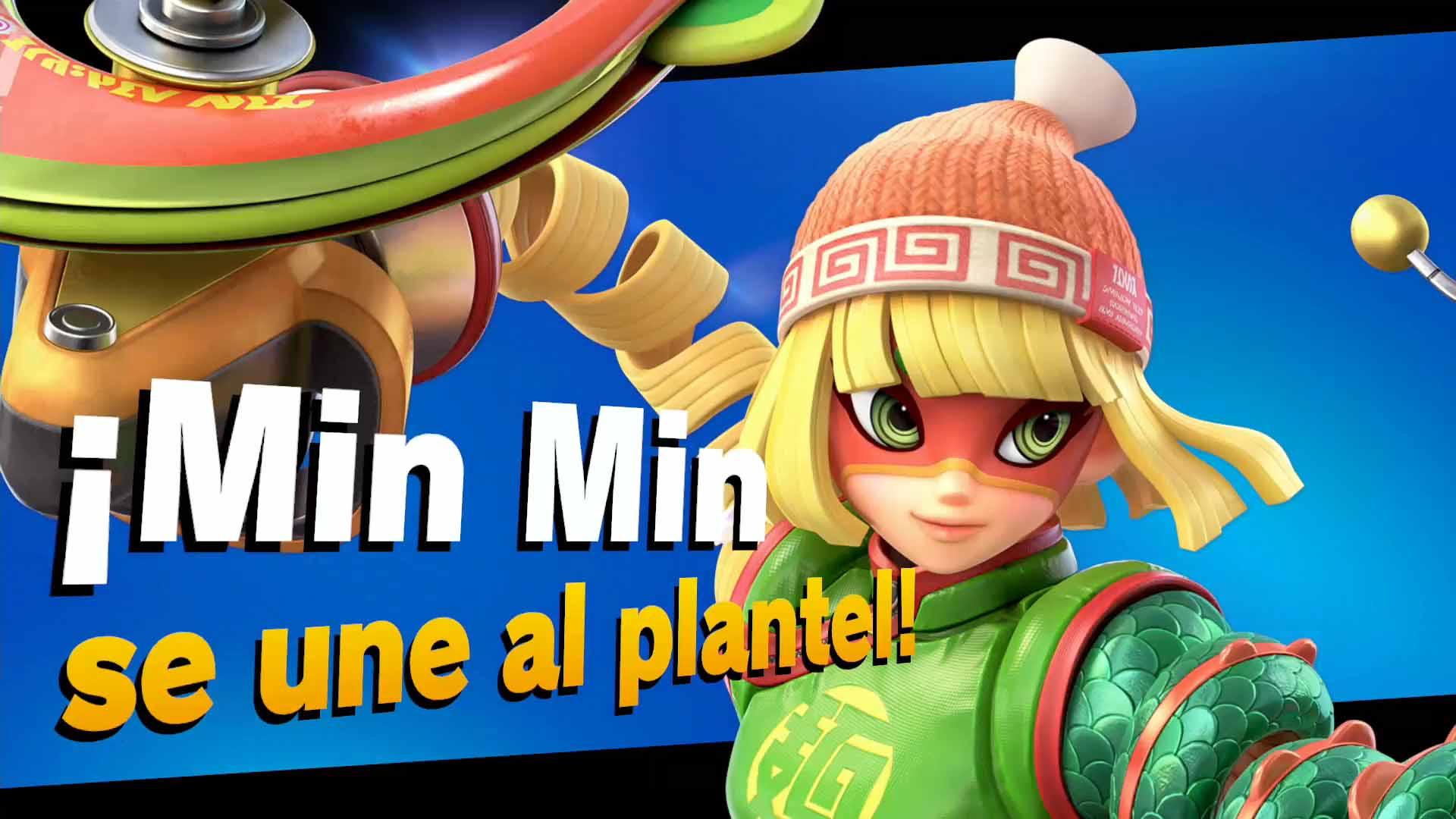 impresiones Min Min en Super Smash Bros. Ultimate