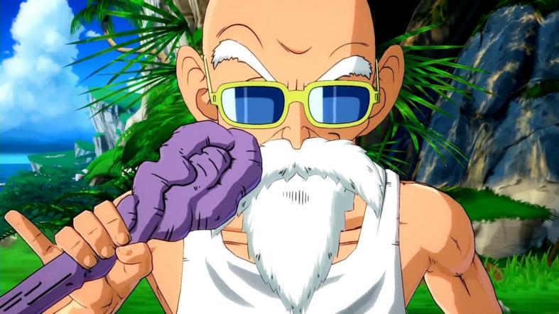 Roshi en Dragon Ball FighterZ