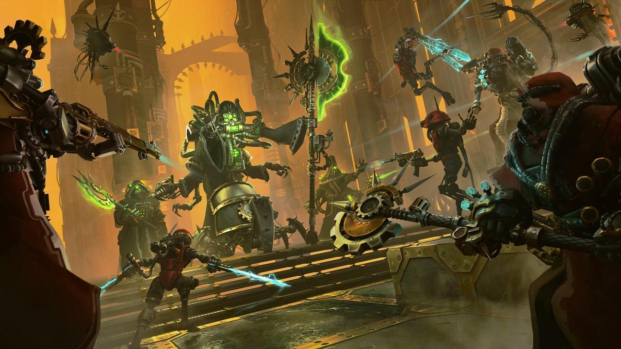 análisis de Warhammer 40.000: Mechanicus