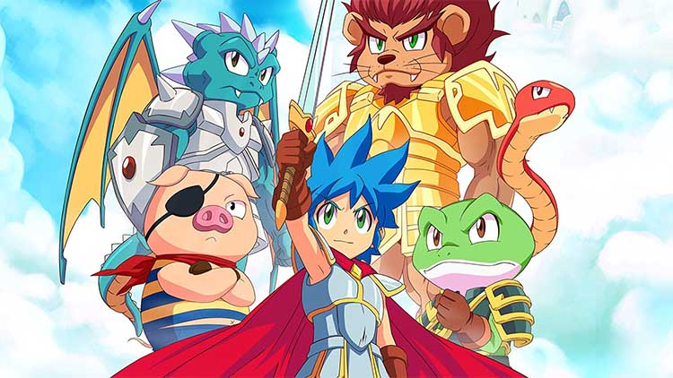 Monster Boy and the Cursed Kingdom a 4k y 120 FPS