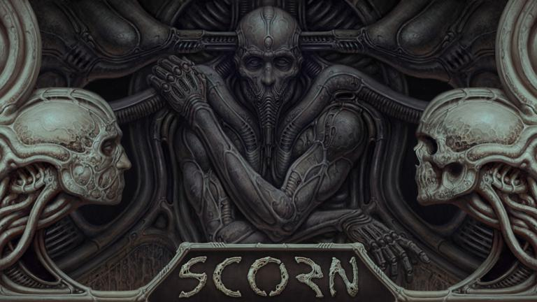 gameplay Scorn 4K Xbox Series X