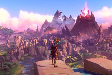 gameplay de Immortals Fenyx Rising