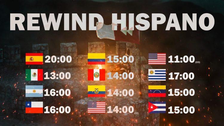 Información y horario del Youtube REWIND Hispano 2020 de Alecmolon