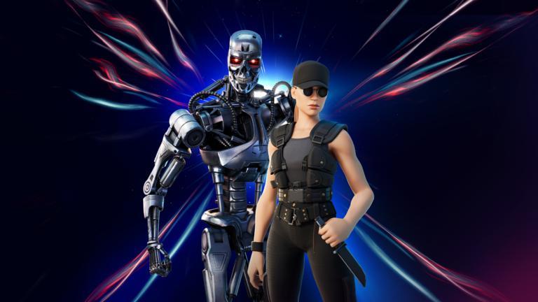 Objetos y precio de la skin de Terminator y Sarah Connor en Fortnite