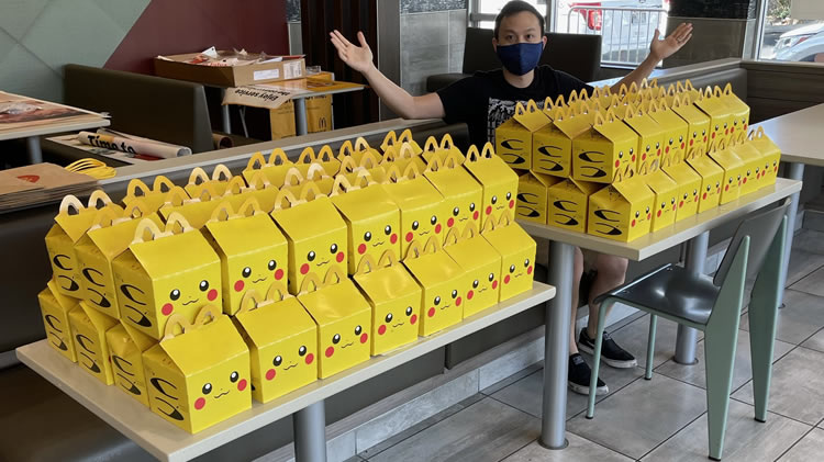 Especular con los Happy Meal de Pokémon