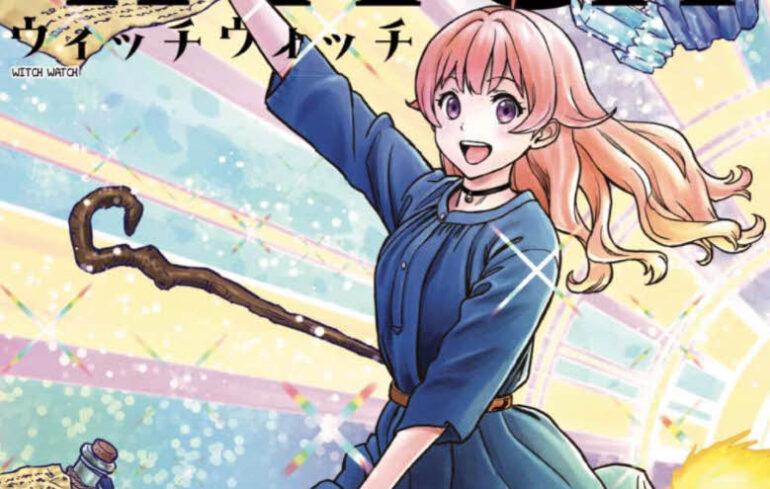 Disfruta del manga Witch Watch, lo nuevo del creador de Sket Dance