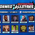participantes del torneo de Destruction AllStars