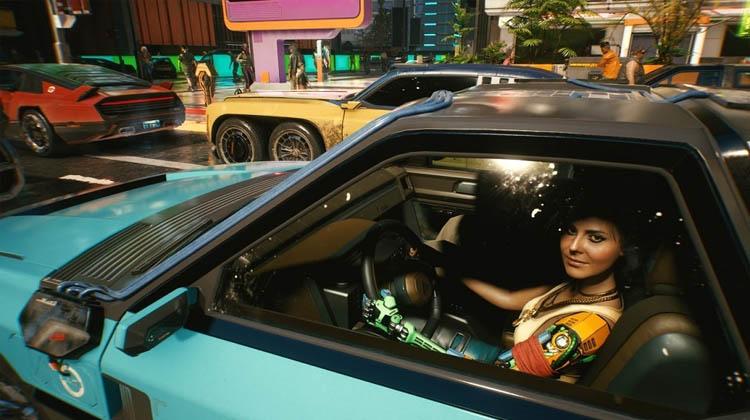 coches del futuro de Cyberpunk 2077