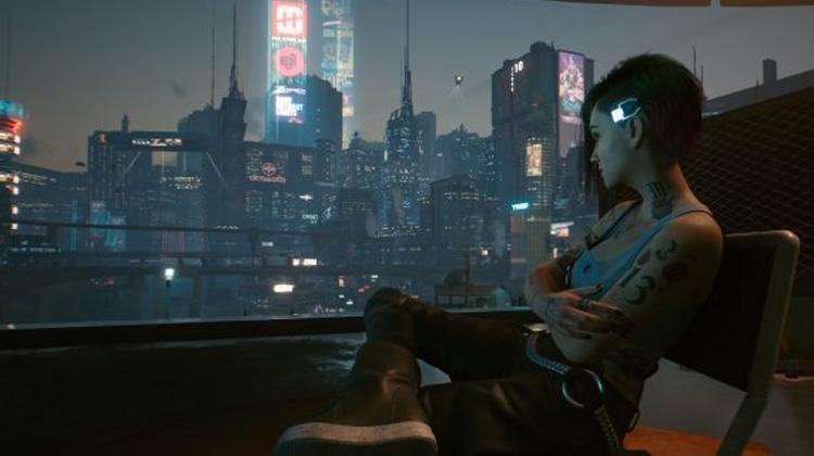horizonte del futuro de Cyberpunk 2077