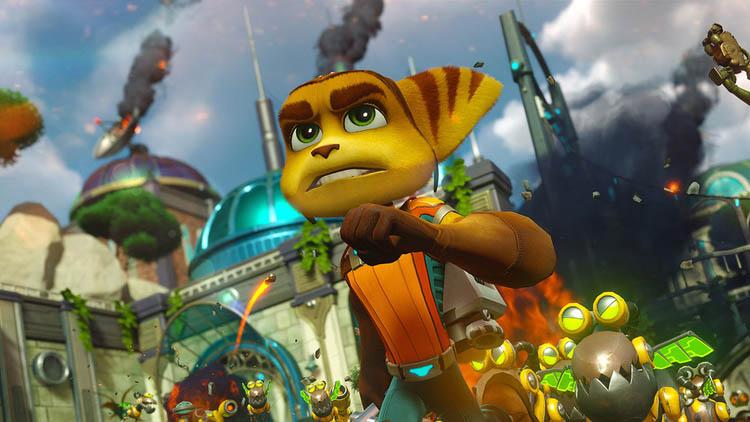Parche PS5 de Ratchet & Clank