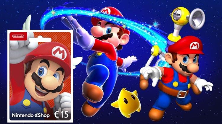 Super Mario 3D All-Stars con tarjetas prepago