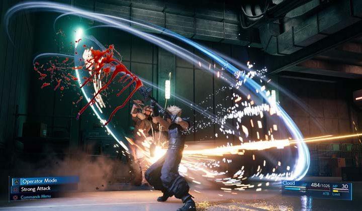 Final Fantasy VII Intergrade tendrá gore