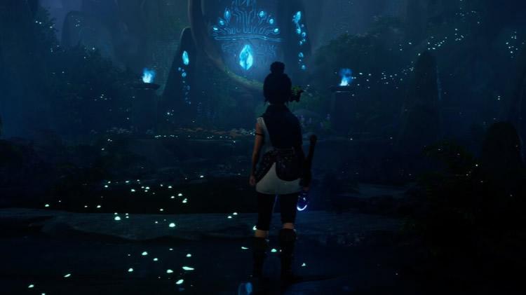trailer de kena bridge of spirits del future games show
