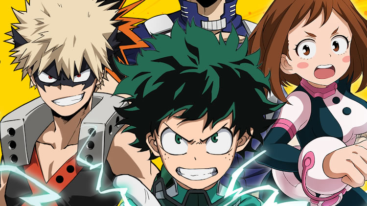 my hero academia the strongest hero en occidente
