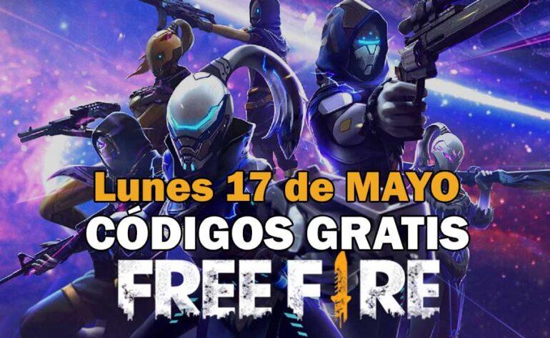 Códigos Free Fire gratis disponibles 17 de mayo de 2021