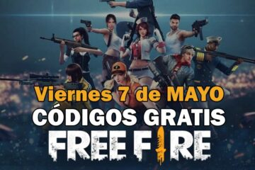 Free Fire códigos 7 de mayo 2021
