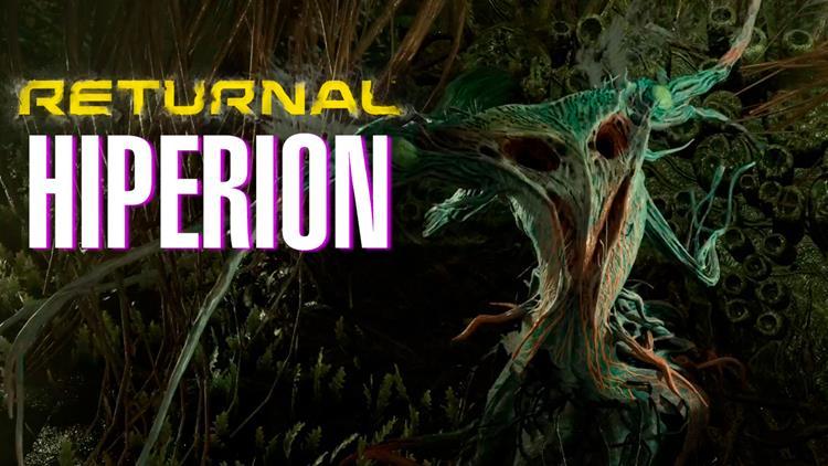 RETURNAL - Enfrentamiento contra HIPERION, cuarto jefe del juego - PlayStation 5