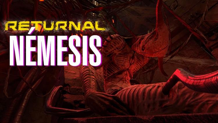RETURNAL - Enfrentamiento contra NÉMESIS, tercer jefe del juego - PlayStation 5